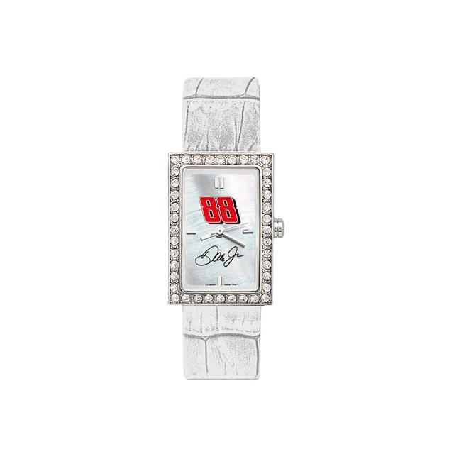 Hendrick Motorsports Dale Jr Ladies Allure Watch w/ Leather Band