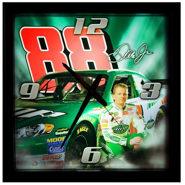 Hendrick Motorsports Dale Jr. #88 Illuminated 17 inch Clock
