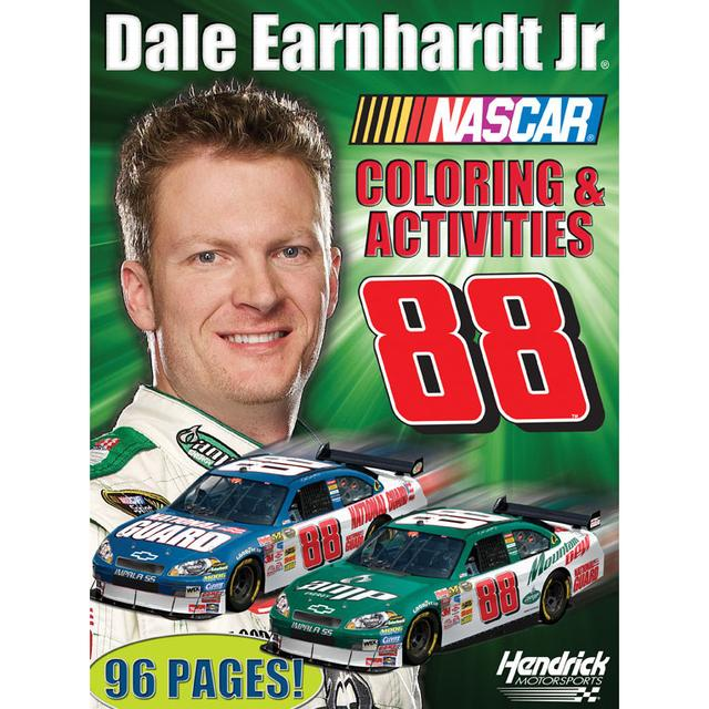 Hendrick Motorsports Dale Jr. #88 Coloring and Activities Book