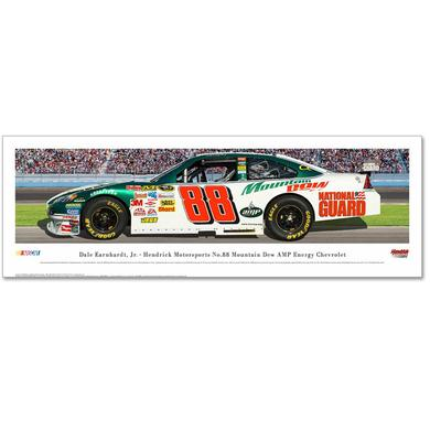 Hendrick Motorsports Dale Jr #88 AMP Panaoramic Photo - Unframed