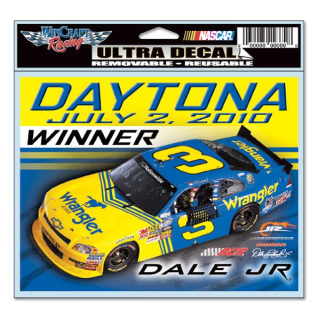 Hendrick Motorsports Dale Jr. #3 Wrangler Win Ultra Decal