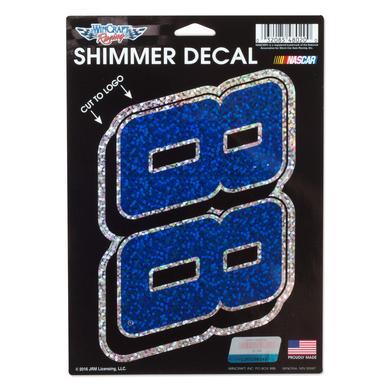 Hendrick Motorsports Dale Jr. #88 5x7 Shimmer Decal