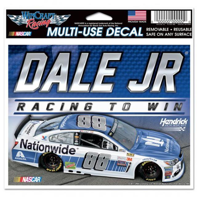"Hendrick Motorsports Dale Earnhardt Jr Multi-Use Colored Decal - 5"" x 6"""