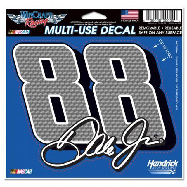 """Hendrick Motorsports Dale Earnhardt Jr Multi-Use Decal - 4.5"""" x 5.75"""""""