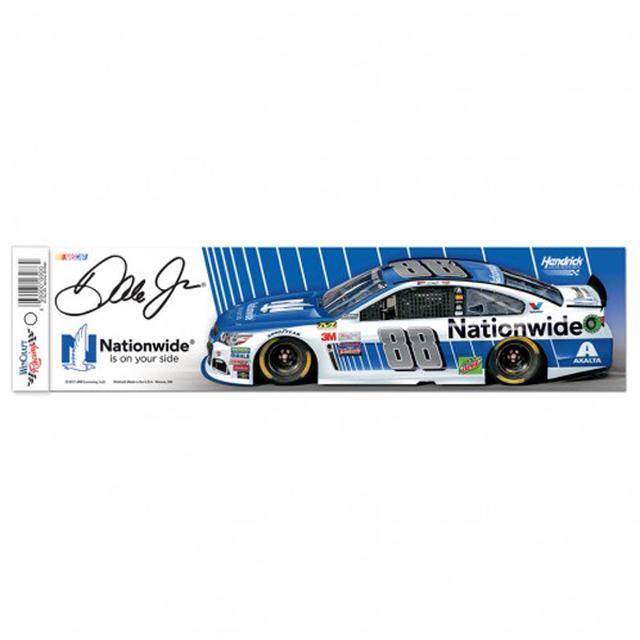 """Hendrick Motorsports Dale Earnhardt Jr Bumper Strip - 3"""" x 12"""""""