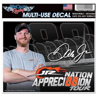 Hendrick Motorsports JR Nation Appreci88ion Multi-Use Decal