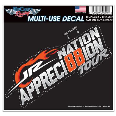 Hendrick Motorsports JR Nation Appreci88ion Multi-Use Die Cut Decal