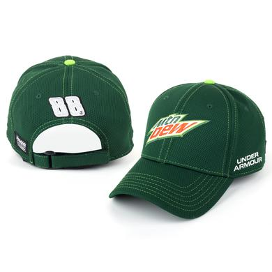 Hendrick Motorsports Dale Jr. #88 Mountain Dew Official Team Hat
