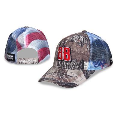 Hendrick Motorsports Dale Jr. #88 Patriotic Hat