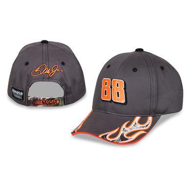 Hendrick Motorsports Dale Jr. #88 Boys Camo Flame Hat