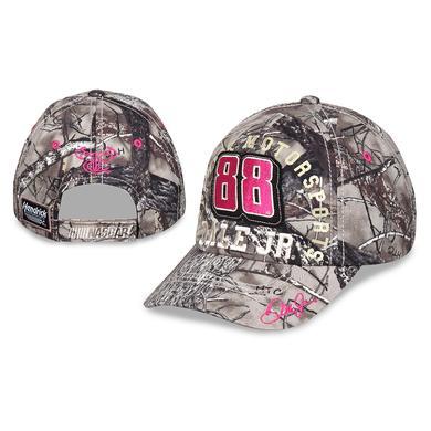 Hendrick Motorsports Dale Jr. #88 Girls Camo/Pink Hat