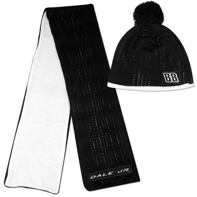 Hendrick Motorsports Dale Jr. #88 Ladies Knit Hat & Scarf Set