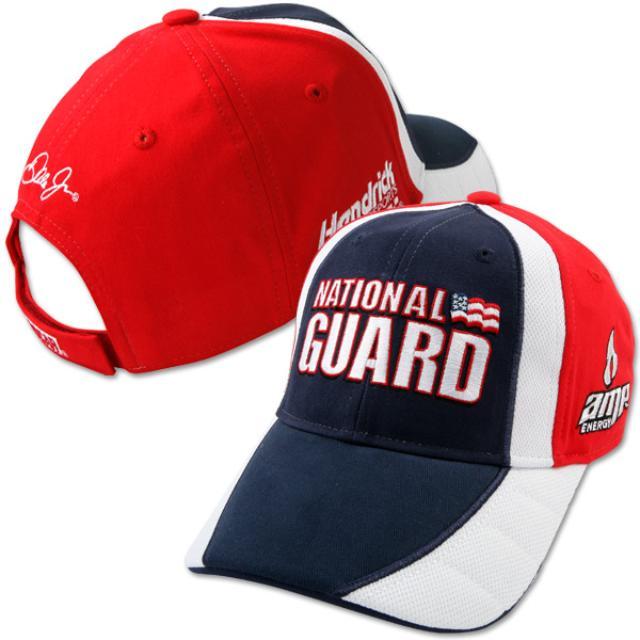 Hendrick Motorsports Dale Jr. #88 2010 Nat'l Guard Driver Pit Cap