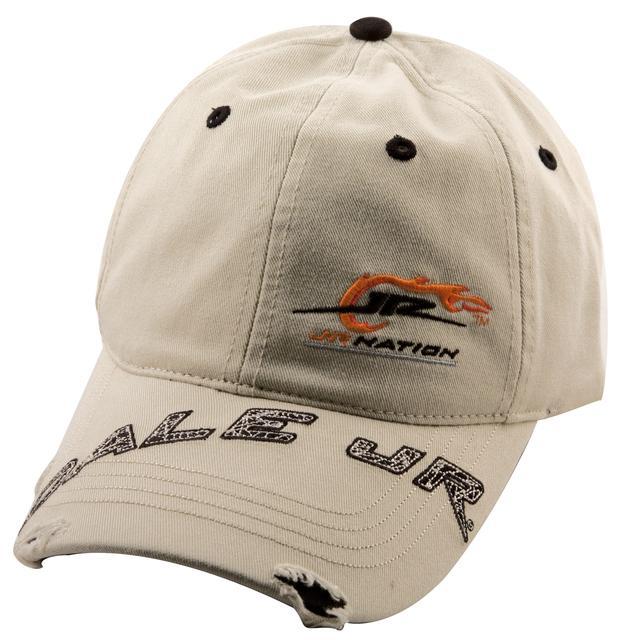 Hendrick Motorsports JR Nation Distressed Khaki Hat