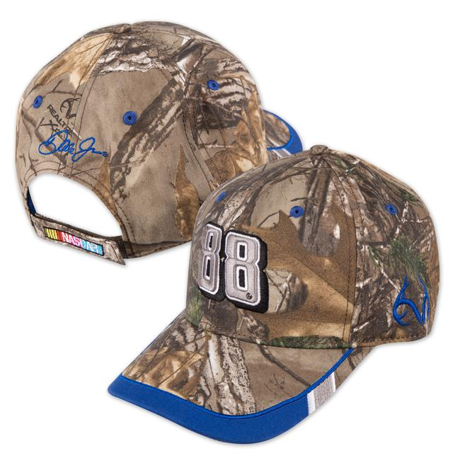 Hendrick Motorsports Dale Jr. - 1st Turn Camo Hat by The Game