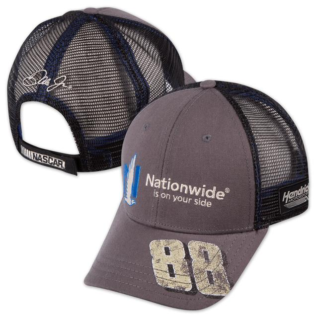 Hendrick Motorsports Dale Jr. Backstretch Distressed Trucker Hat by The Game
