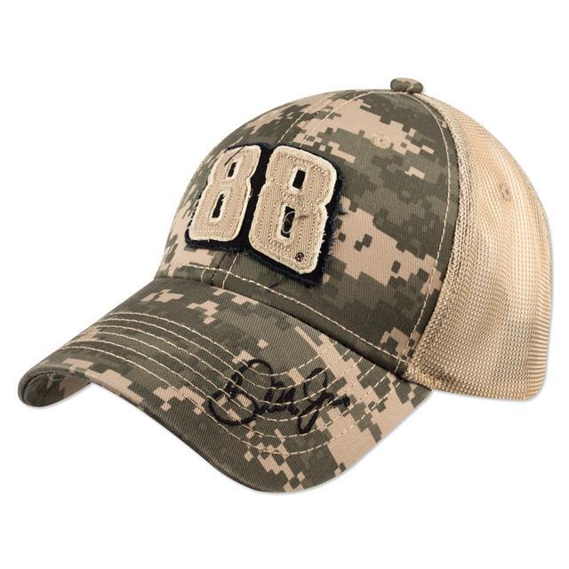 Hendrick Motorsports Dale Jr. 2015 Chase Authentics Adult Salute Camo Hat
