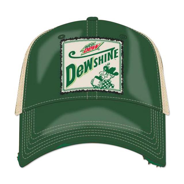 Hendrick Motorsports Dale Jr. DEW Shine Patch Hat