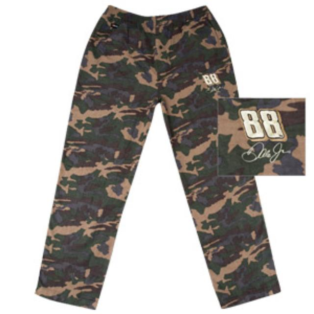 Hendrick Motorsports Dale Jr. #88 Flannel Camo Pants