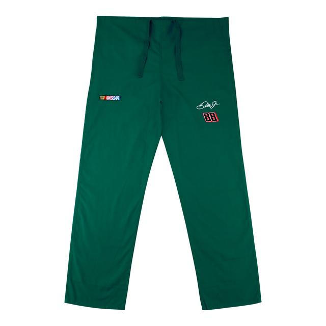 Hendrick Motorsports Dale Jr. #88 Green Scrub Pants