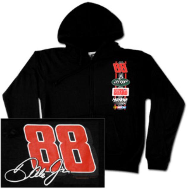 Hendrick Motorsports Dale Jr. #88 Full Zip Hoodie