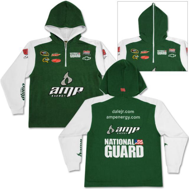 Hendrick Motorsports Dale Jr. #88 AMP/Nat'l Guard Uniform Hoodie