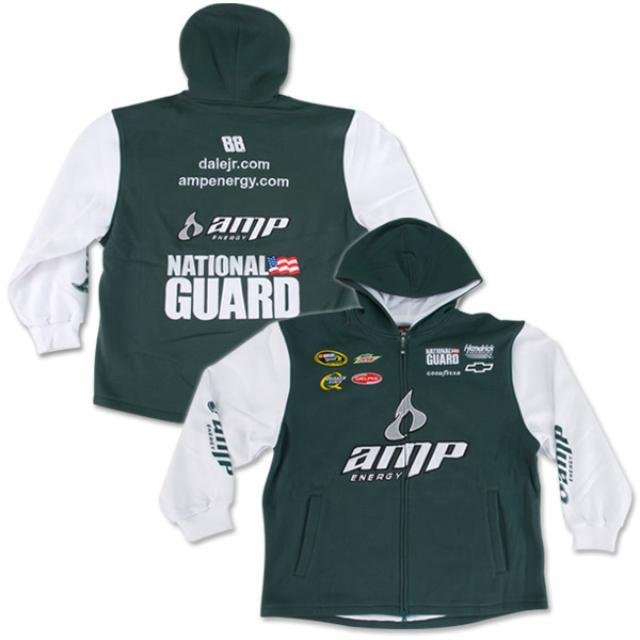 Hendrick Motorsports Dale Jr. #88 2010 AMP/Nat'l Guard Uniform Hoodie