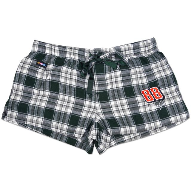 Hendrick Motorsports Dale Jr. #88 Ladies Harmony Plaid Shorts