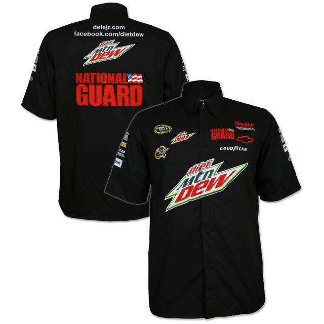 Hendrick Motorsports Dale Jr #88 MtDew Off Pit Shirt