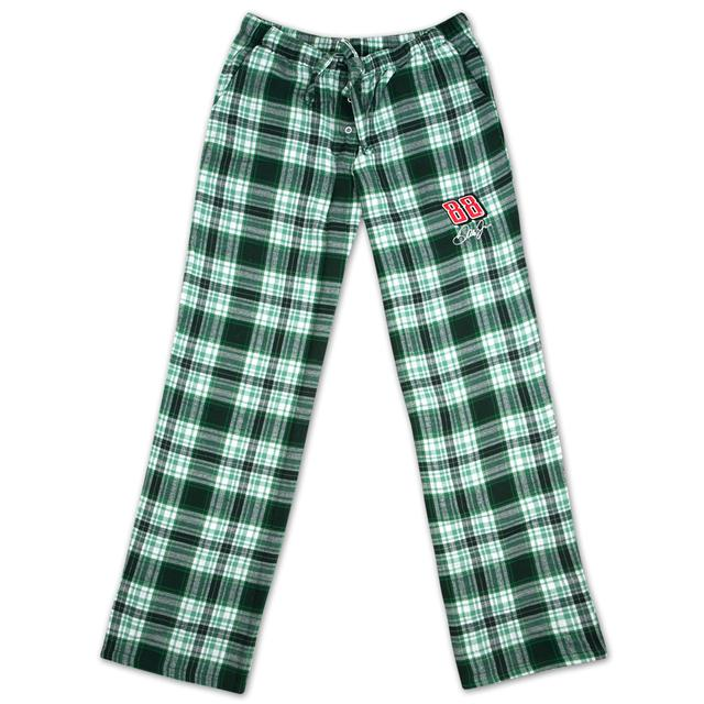 Hendrick Motorsports Dale Jr #88 Ladies Crossroad Plaid Flannel Pant