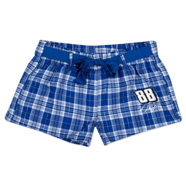 Hendrick Motorsports Dale Jr. Ladies' Flannel Short