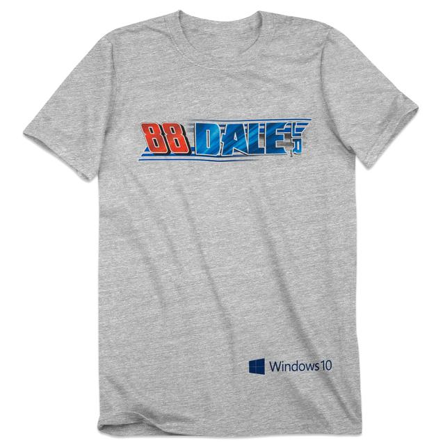 Hendrick Motorsports Dale Jr. #88 Windows 10 T-Shirt