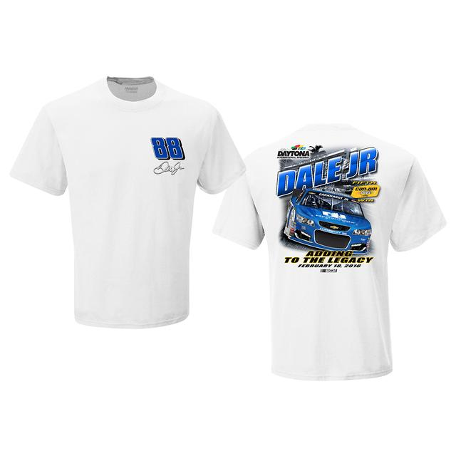 Hendrick Motorsports Dale Jr. #88 2016 CAN-AM DUEL #1 Victory T-shirt