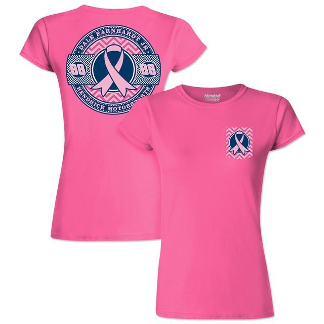 Hendrick Motorsports Dale Jr. #88 Pink Ladies T-Shirt