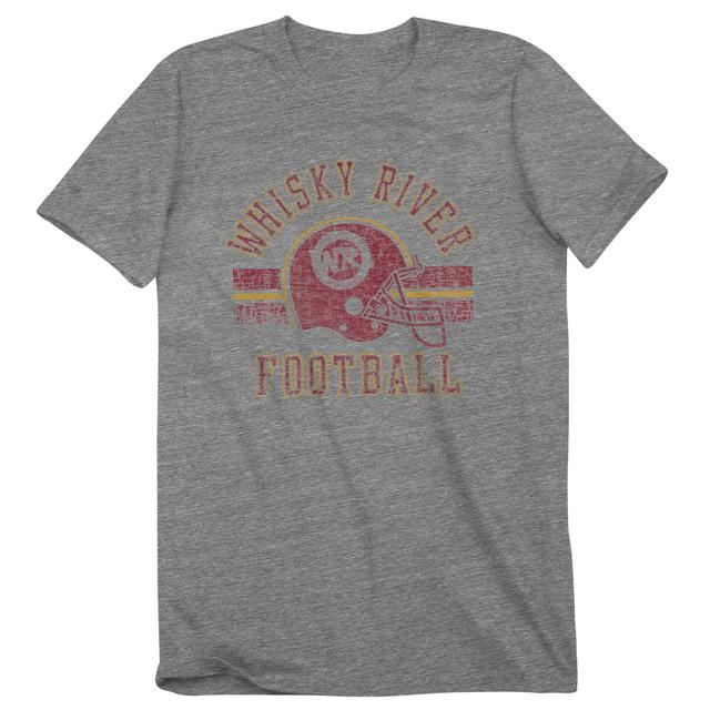 Hendrick Motorsports Whisky River Football T-Shirt