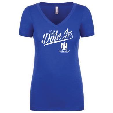 Hendrick Motorsports JR Nation Ladies V-Neck Burnout T-Shirt