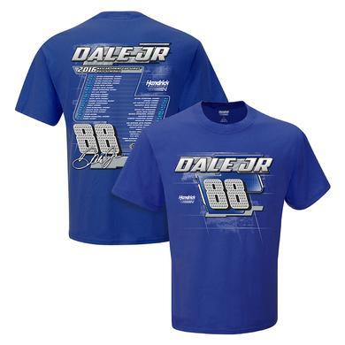 Hendrick Motorsports Dale Jr. #88 2016 S/S Schedule T-Shirt