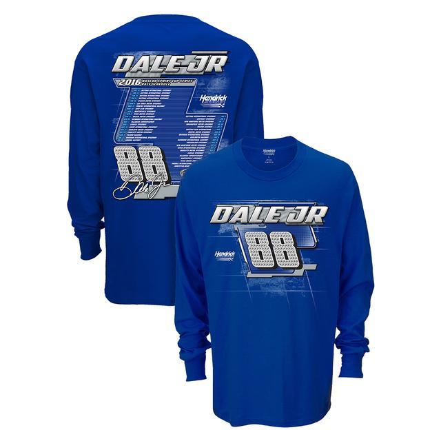 Hendrick Motorsports Dale Jr. #88 2016 L/S Schedule T-Shirt