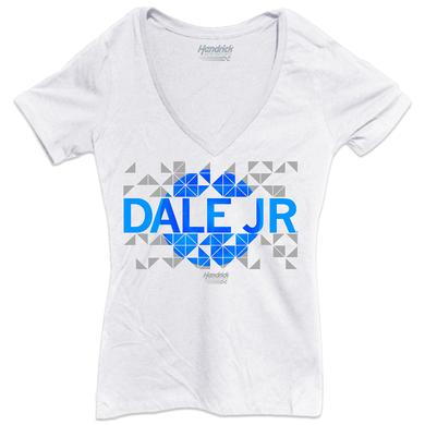 Hendrick Motorsports Dale Jr. #88 Ladies Emerald V-neck Tee