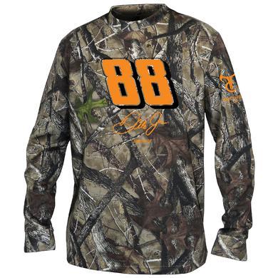 Hendrick Motorsports Dale Jr. #88 Camo Long Sleeve T-shirt
