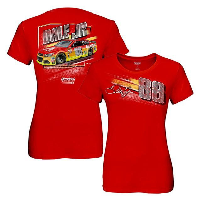 Hendrick Motorsports Dale Jr. #88 Ladies Axalta Dyno T-Shirt