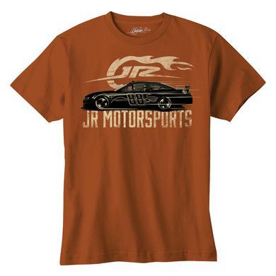 Hendrick Motorsports JR Motorsports Orange Flame Car Youth T-Shirt
