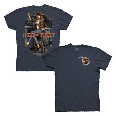 Hendrick Motorsports Whisky River Hold On Pinup T-Shirt