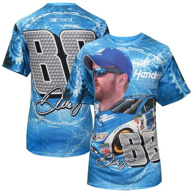 Hendrick Motorsports Dale Jr. #88 Adult Full Sublimation Driver T-Shirt