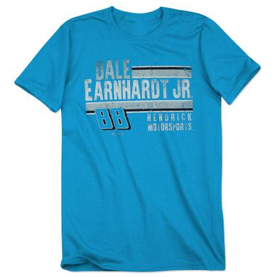 Hendrick Motorsports Dale Jr. #88 Adult Polyester T-Shirt Heathered