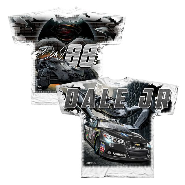 Hendrick Motorsports Dale Jr.#88 Batman Total Print T-Shirt