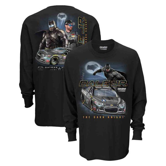 Hendrick Motorsports Dale Jr.#88 Batman Long Sleeve Sidekick T-Shirt