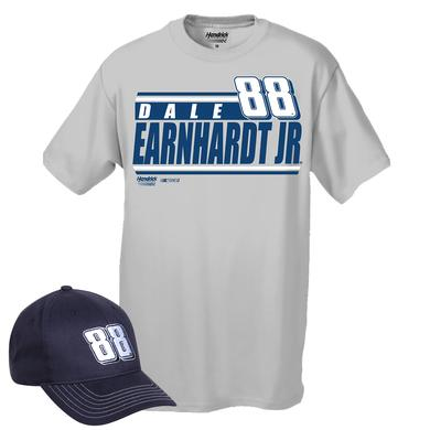 Hendrick Motorsports Exclusive Dale Jr. Hat & T-shirt Combo