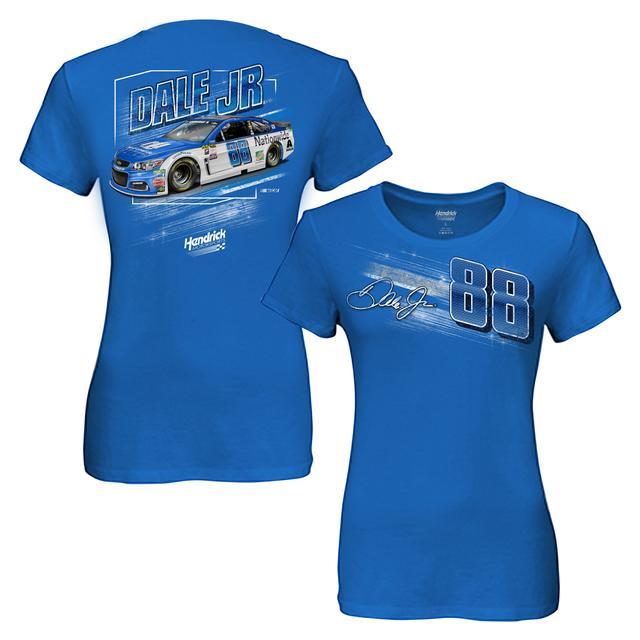 Hendrick Motorsports Dale Jr. Ladies Nationwide Dyno T-shirt