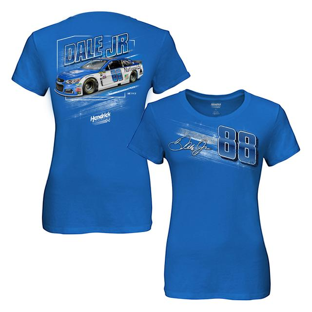 Hendrick Motorsports Dale Jr. Ladies Nationwide Dyno T-shirt